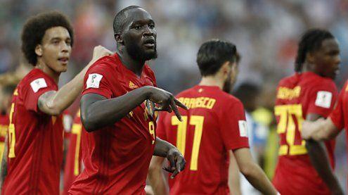 Belgien startete mit 3:0 souverän ins Fußball WM-Turnier 2018