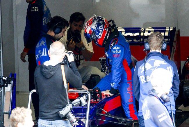 Marquez steig in den Torro Rosso
