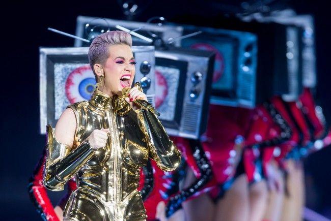 Katy Perry lieferte eine Show voller Reize in der Wiener Stadthalle.