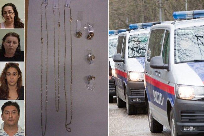 Die Polizei ist auf der Suche nach weiteren Opfern bzw. Eigentümer des gestohlenen Schmucks.