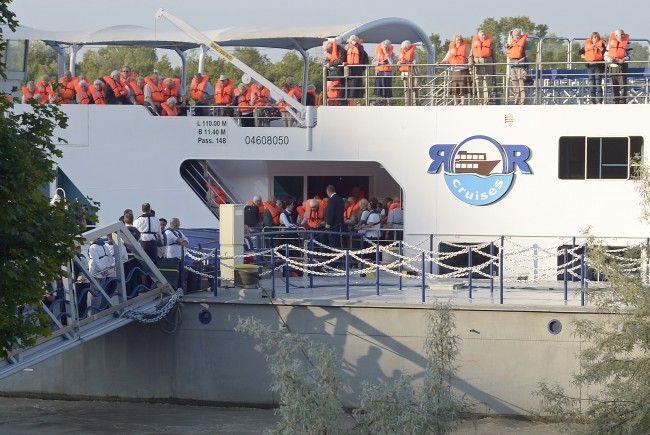 Der Wiener Hafen profitiert von den Kreuzfahrten. / Symbolbild