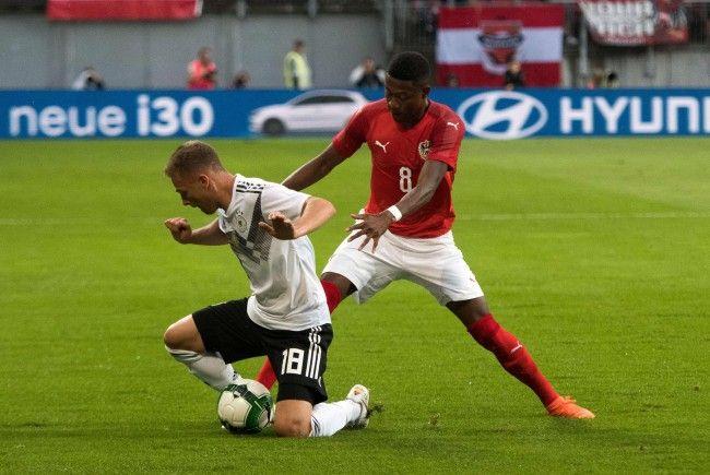 Österreich feiert seinen ersten Sieg gegen Deutschland seit 32 Jahren.