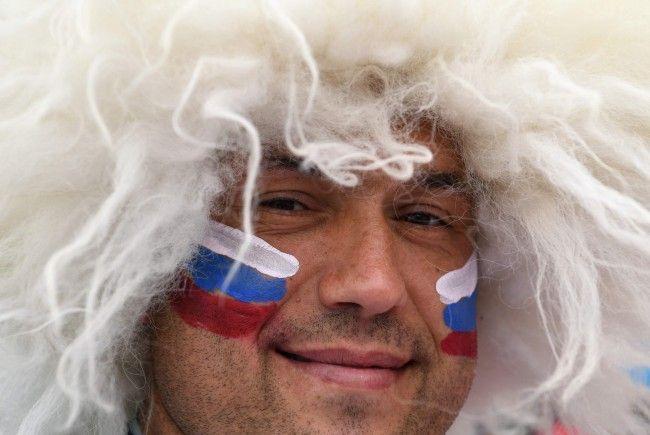 Russland trifft heute um 17 Uhr auf Saudi-Arabien.