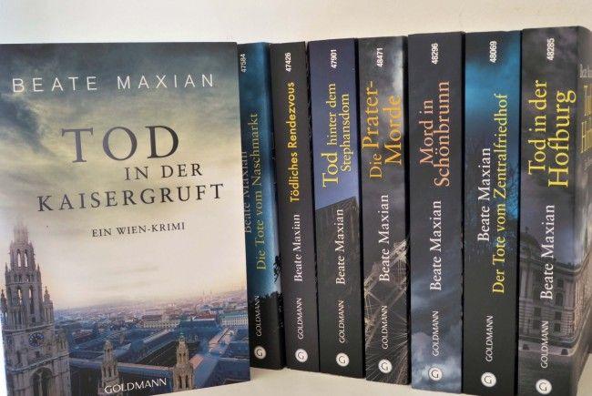 Die gesamte Wien-Krimi Reihe rund um Sarah Pauli umfasst bereits 8 Bücher.