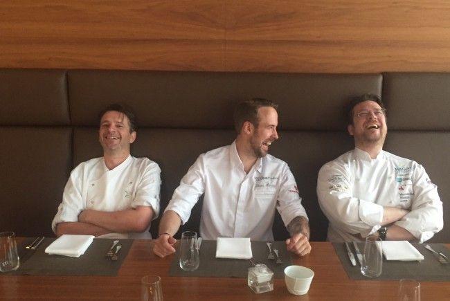 Die Köche Markus Höller, Sören Herzig und Markus Nagl bringen ein Stück Kulinarik nach Wien.