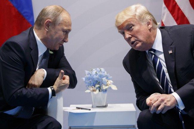 Putin und Trump könnten in Wien aufeinandertreffen.