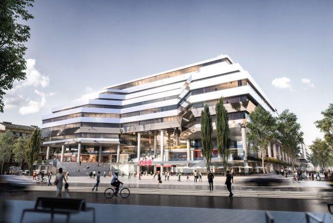Diese Terrassenhäuser sollen am Althanquartier in Wien-Alsergrund entstehen.