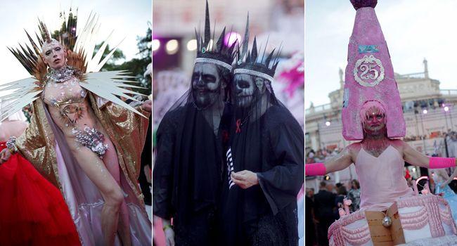 Das waren die besten und schrillsten Outfits beim Life Ball 2018 in Wien.