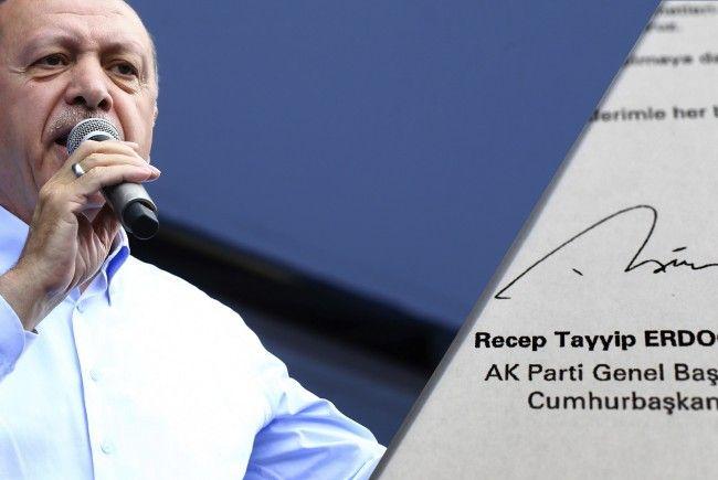 Wahlkampf in der Türkei: Erdogan schickte Wiener Schülern Briefe