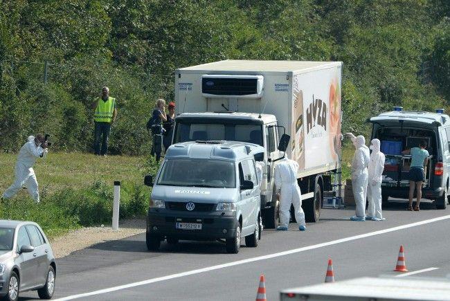 Bei dem Flüchtlingsdrama auf der A4 starben 71 Menschen.