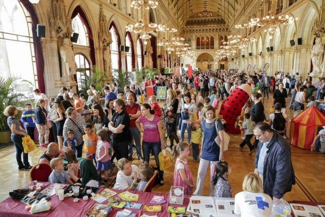 Am 30. Juni 2018 findet das Kinderlesefest im Wiener Rathaus statt.