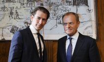 Kurz trifft auf Tusk: Haupt-Thema ist Migrationspolitik