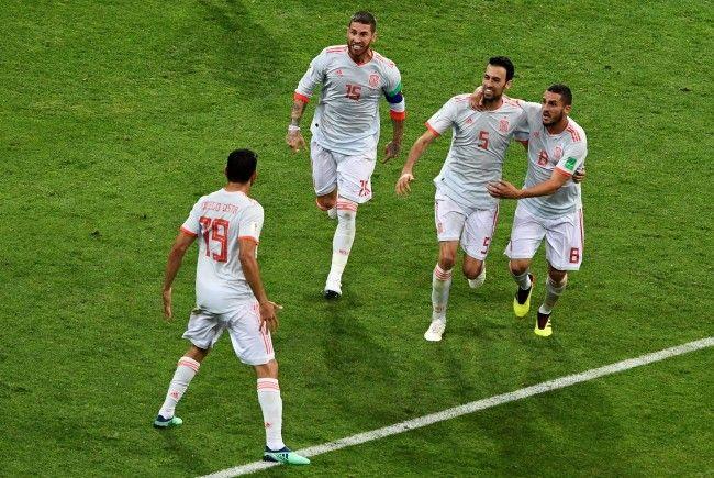 Spanien gewinnt gegen den Iran nur dank einem Glückstor