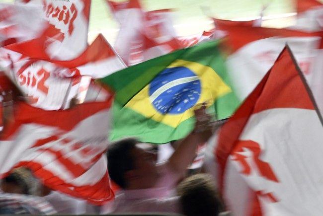 Für Österreich setzte es gegen Brasilien eine klare 0:3-Niederlage.
