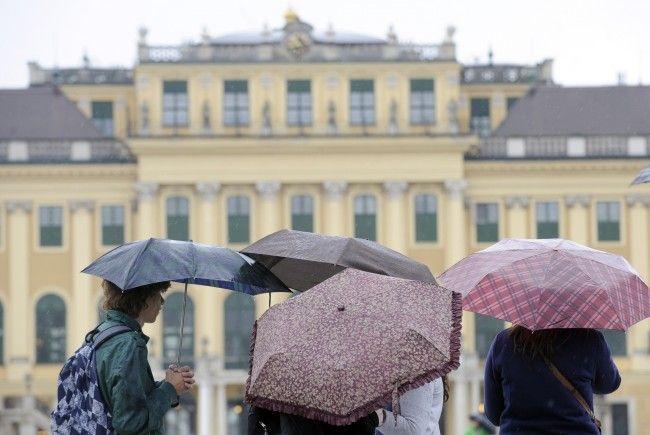 Am Wochenende sollte man sich in Wien auf Regen einstellen.