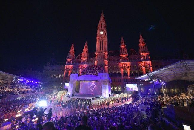So sind die Wetteraussichten für den Life Ball 2018 in Wien.