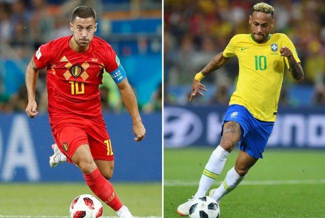 Belgien Vs Brasilien